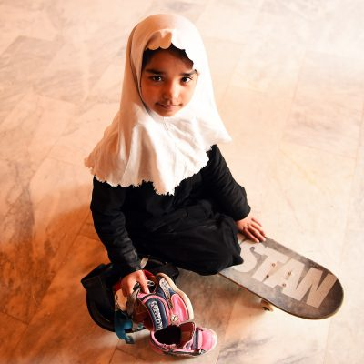 Happy Monday - Female skaters in Afghanistan