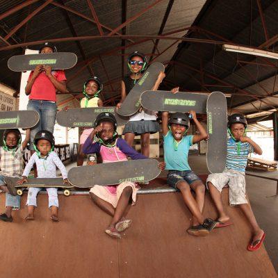 Happy Monday - Skateistan has welcomed over 13,000 children