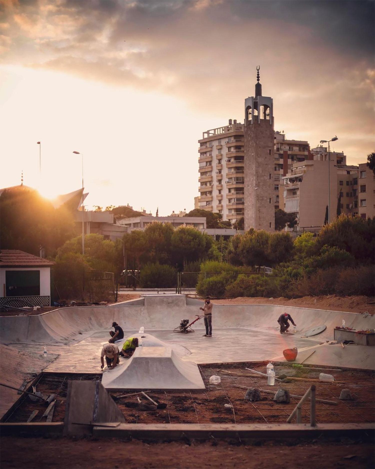 Happy Monday – Lebanon's first public skatepark!